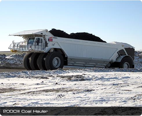 Cat Dump Truck >> Kress Coal Haulers